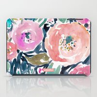 Gardens of Capitola Watercolor Floral iPad Case
