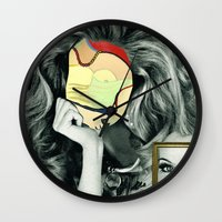 Picasso In Her Face Wall Clock