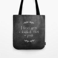 A Bushel and a Peck  Tote Bag