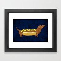 Wienerdog Framed Art Print