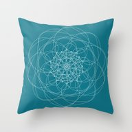 Ornament – Morphing Bl… Throw Pillow