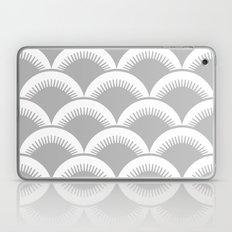 Japanese Fish scales Grey Laptop & iPad Skin
