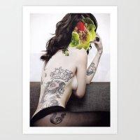 9 COLLAGE SERIES #2 Art Print