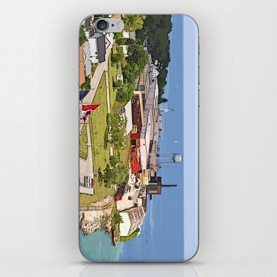 Port Huron iPhone & iPod Skin