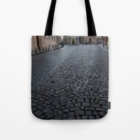 Cobbled Street, Prague  Tote Bag