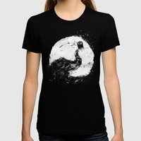 All Of Space And Time Womens Fitted Tee Black SMALL