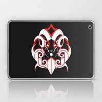 Warrior (White & Red) Laptop & iPad Skin