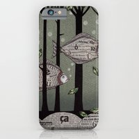 iPhone & iPod Case featuring A Fishy Story by Judith Clay