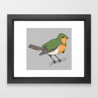 robinhood. Framed Art Print