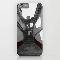 iPhone Cases featuring Town Alley by Roberto Vizzuett