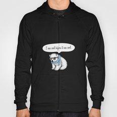 Hipster polarbear Hoody