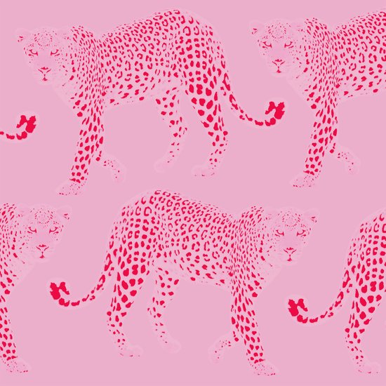 Pink Panthers Art Print