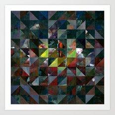 Colour Crystallization #3 Art Print