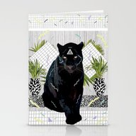 Stationery Cards featuring IMAMU by Kris Tate