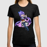 Stocking Womens Fitted Tee Tri-Black SMALL