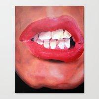 Oral Fixation 1.1 Canvas Print
