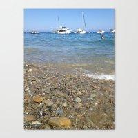 The Beach Canvas Print
