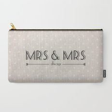 Mrs & Mrs (lesbian content) Carry-All Pouch