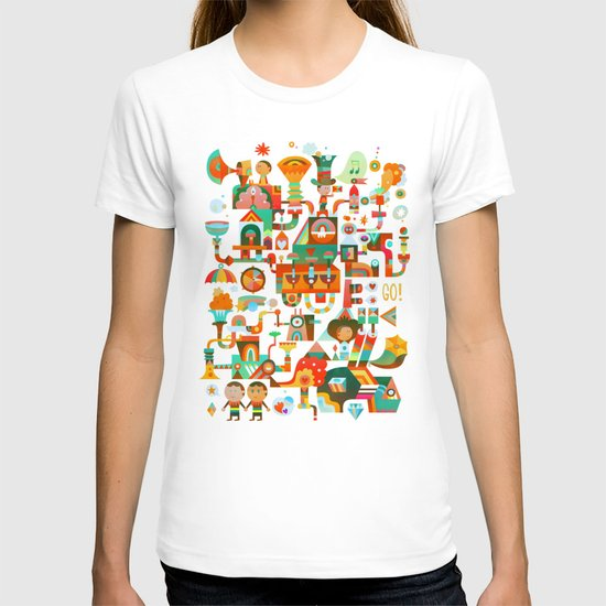 The Chipper Widget (Remix) T-shirt