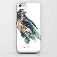 iPhone Cases featuring Falcon by RIZA PEKER
