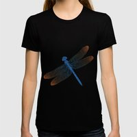 dragonfly v2 Womens Fitted Tee Black SMALL