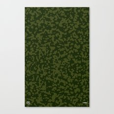 Comp Camouflage / Green Canvas Print