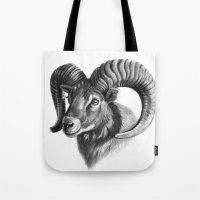 The mouflon G125 Tote Bag