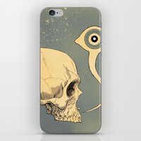 Untitled (skull) iPhone & iPod Skin