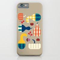 Autumn Gourds Gold iPhone 6 Slim Case