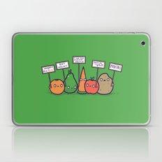 I hate vegans Laptop & iPad Skin