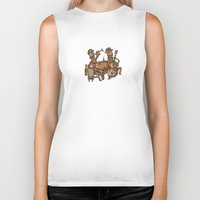The Small Big Band Biker Tank