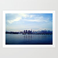 Across the Water Art Print