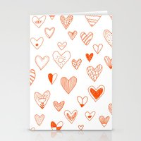 fun hearts Stationery Cards