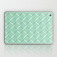 Chain Link on Mint Laptop & iPad Skin