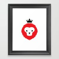 Little Lion Man Framed Art Print