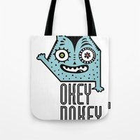 Okey Dokey Monster Tote Bag