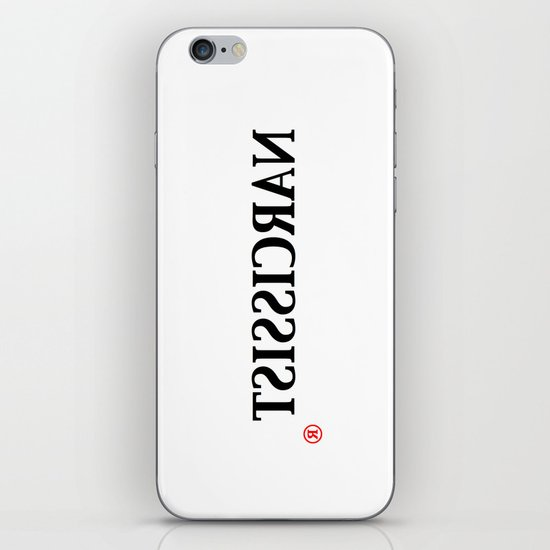 Narcissist iPhone & iPod Skin