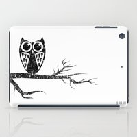 Owl Night Long iPad Case