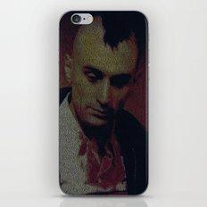 Travis. Taxi Driver Screenplay Print iPhone & iPod Skin