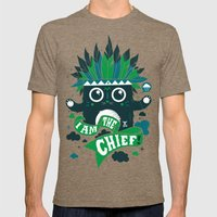 I Am The Chief! Mens Fitted Tee Tri-Coffee SMALL