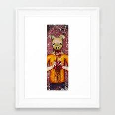 Heart Eater (Boy) Framed Art Print