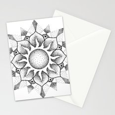 Dotwork mandala Stationery Cards