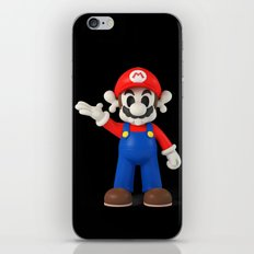Skull Mario iPhone & iPod Skin