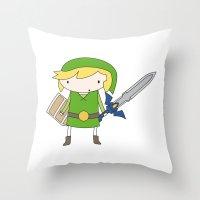 Link - Wind Waker Throw Pillow