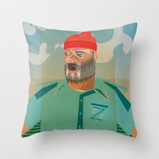 Steve Z. Throw Pillow