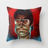 King Of Horror Throw Pillow