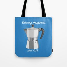 Brewing Happiness Tote Bag