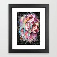 Find Them Framed Art Print