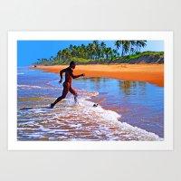 Beautiful Bahia Art Print