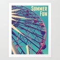 Summer Fun Art Print